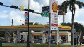La demanda ha creado escasez de gasolina en Miami.