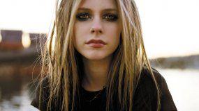 La cantante Avril Lavigne.