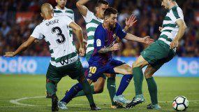 El 10 azulgrana sigue cosechando récords en su carrera y alcanzó los 302 goles en el Camp Nou.