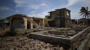 Vista de la devastación dejada por el huracán Irma en Cojímar, al este de La Habana.