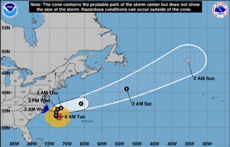 Resultado de imagen para Huracán María afecta costa sureste de EEUU