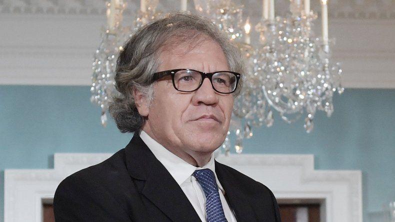 Luis Almagro, secretario general de la Organización de Estados Americanos, OEA.