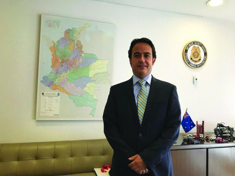 Christian Krüger, director nacional de Migración Colombia.