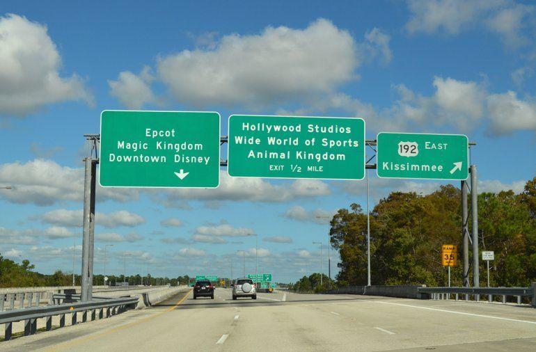 La carretera 192 de Florida, entre Four Corners a Indialantic tiene un estimado de 0.86 muertes por milla. En el período estudiado de 5 años, se registraron 65 fallecidos.