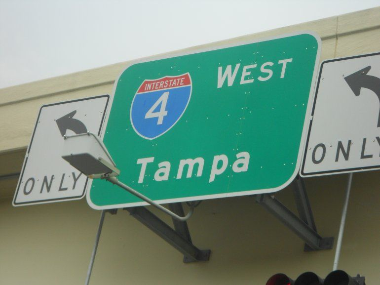 El primer puesto lo ocupa la I-4 de Tampa a Daytona Beach, en Florida, con 165 personas murieron entre los años 2011 y 2015 en las 132 millas que tiene la vía.
