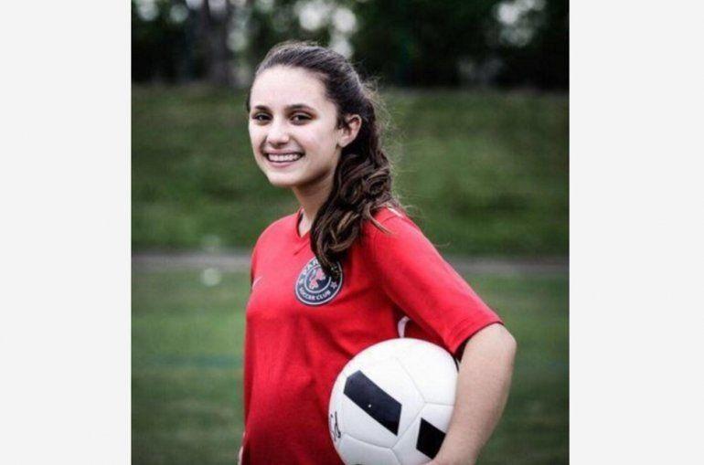 Alyssa Alhadeff, 15 años. Víctima de la masacre de Parkland, Florida.