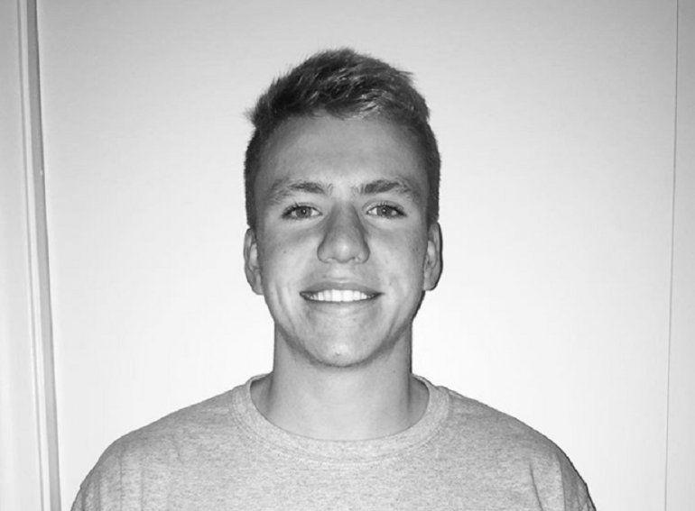 Nicholas Dworet, 17 años. Víctima de la masacre de Parkland, Florida.
