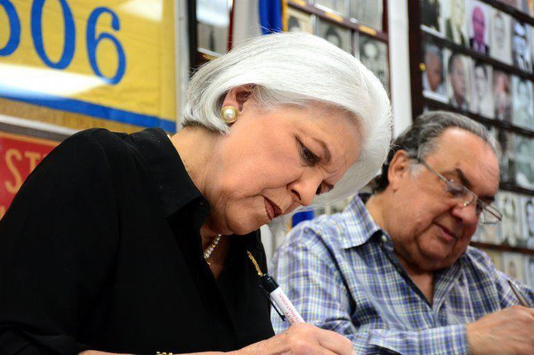 Sylvia Iriondo, presidenta MAR por Cuba.