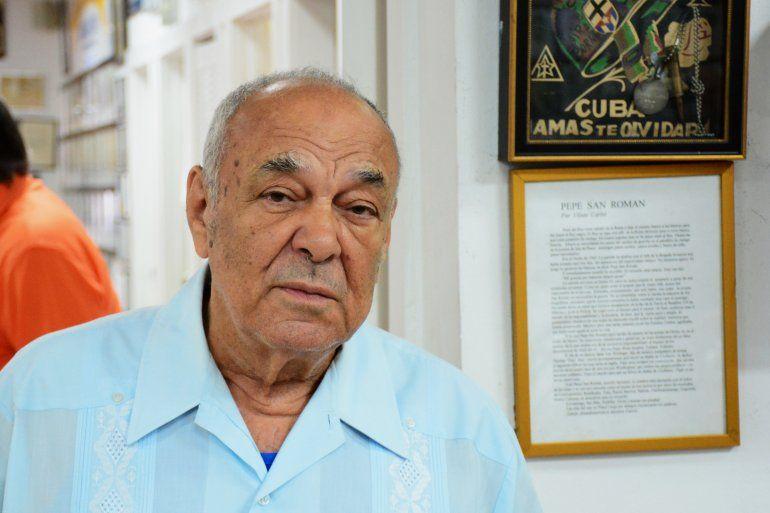 Ernesto Díaz Rodríguez, expreso político cubano y secretario de la organización Alpha 66.