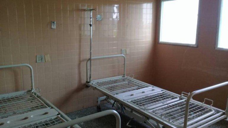 Camillas del Hospital Universitario de Maracaibo (HUM).