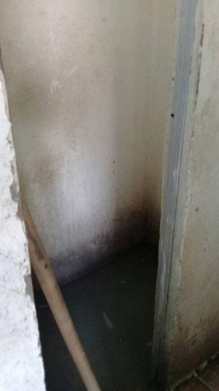 Falta de higiene en el Hospital Universitario de Maracaibo (HUM).