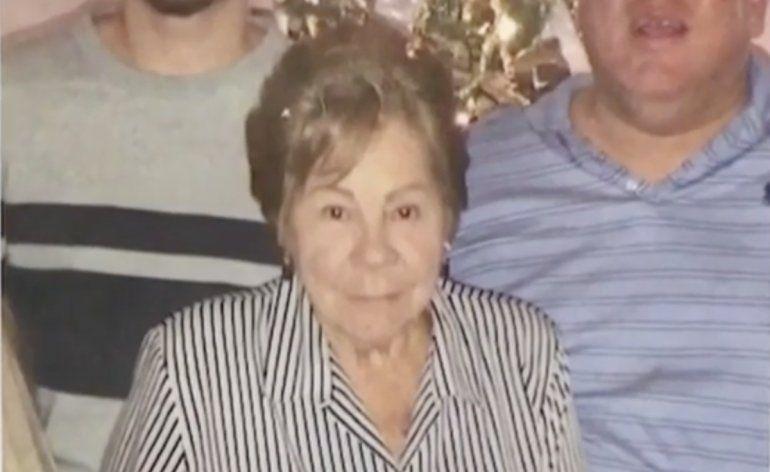 Hilda García, de 77 años, murió en la escena.