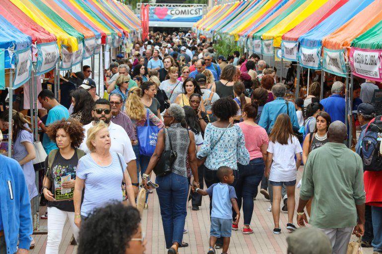 La Feria del Libro de Miami se celebrará del 17 al 24 de noviembre, en el Wolfson Campus de Miami Dade College.