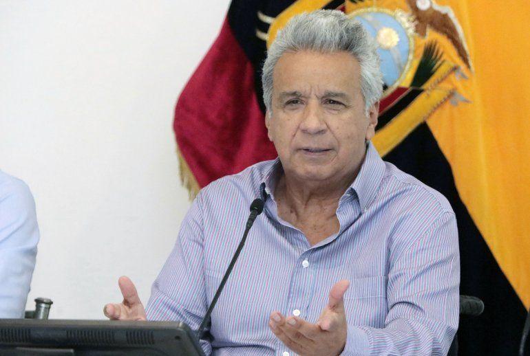 El presidente de Ecuador Lenin Moreno ha venido tomando medidas económicas desde la llegada de la pandemia provocada por el coronavirus COVID-19