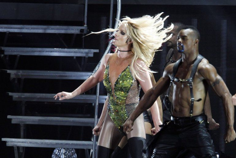 Foto del 13 de junio de 2017, Britney Spears ofrece un concierto en Taipei, Taiwan.