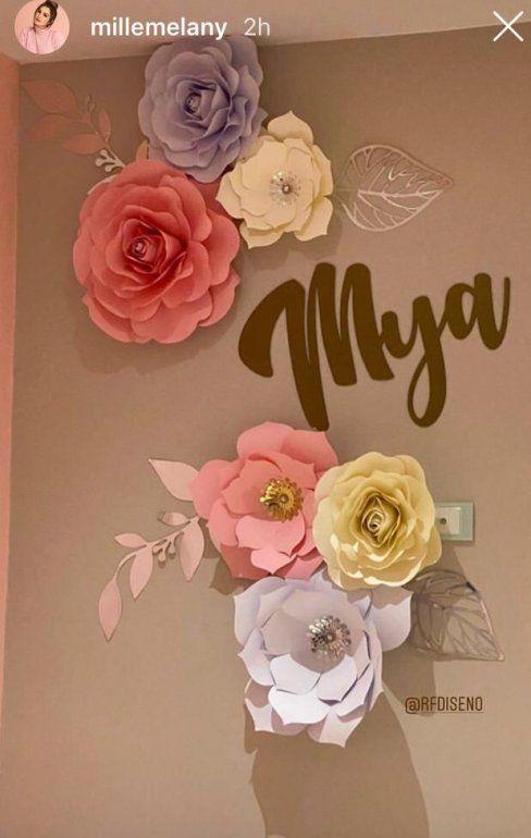 Melanny Mille agradeció en Instagram la infinidad de regalos y detalles que ha recibido a propósito de la llegada de su hija.