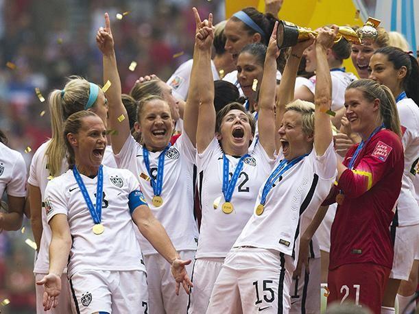 Resultado de imagen para estados unidos campeon 2015 femenino