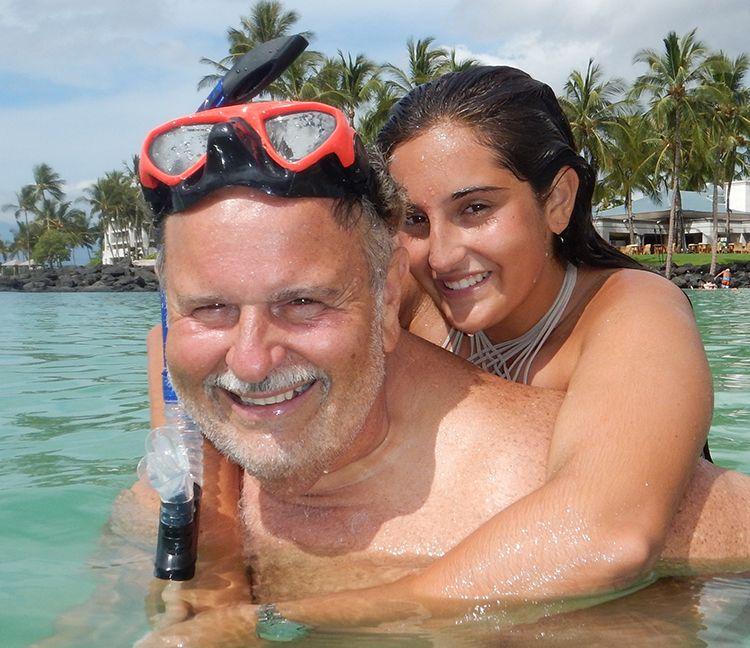 5f801e012c Mía y Raúl estuvieron de vacaciones en Hawaii. (CORTESÍA)