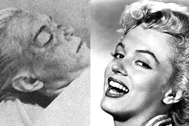 Marilyn Monroe Irreconocible En La Morgue Celebritylandia