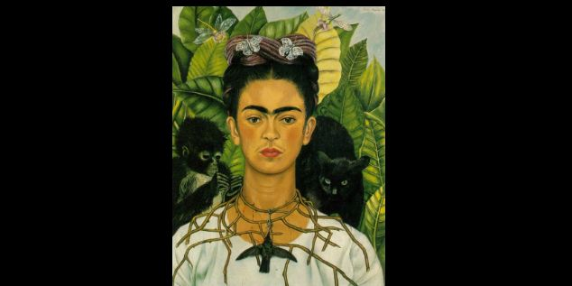 Imagenes De Frida Kahlo Animada Para Colorear: Las Obras De Frida Kahlo Perduran Seis Décadas Después De