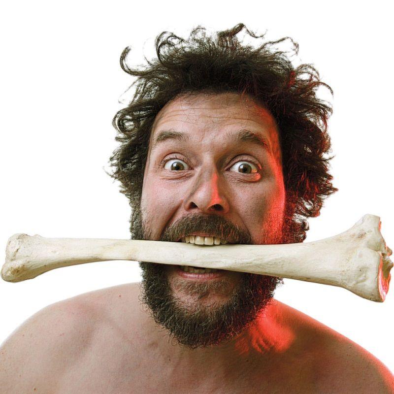Resultado de imagen para hombre paleolitico comiendo