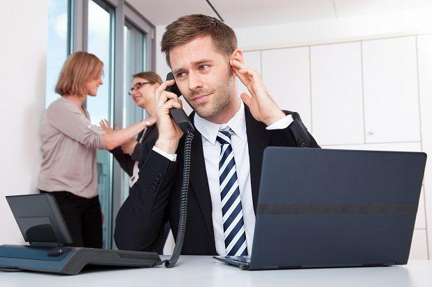 Convivencia c mo sobrevivir a los compa eros de trabajo for Ruido oficina