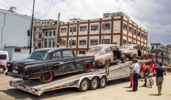 Las mejores im genes de la filmaci n de fast furious 8 for Cuba motors el paso