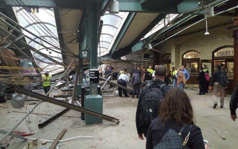 Se desconocen aún las causas del accidente de tren en Nueva Jersey