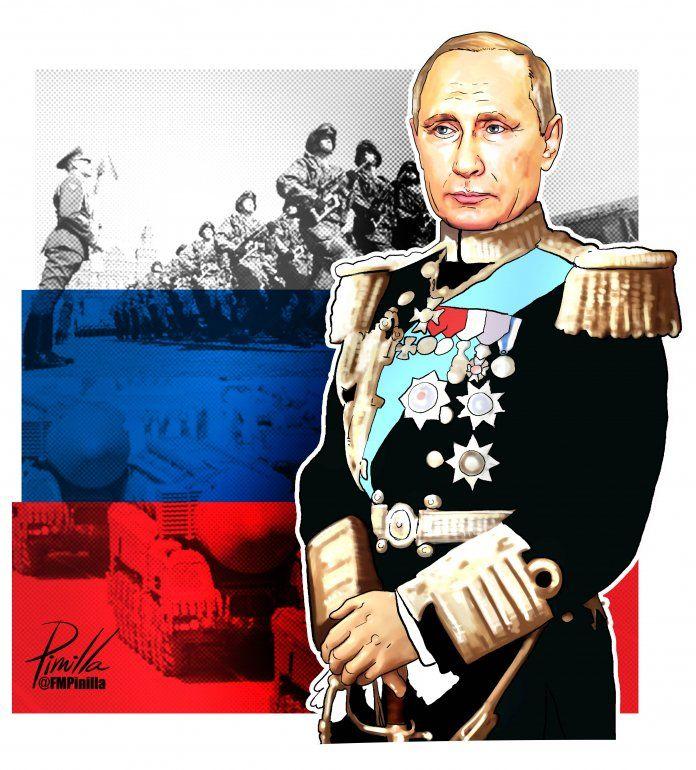 Con una economía en recesión el líder ruso no renuncia a su presencia militar en Siria