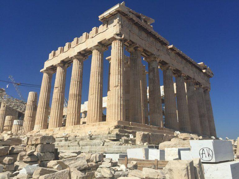 Atenas Una Mágica Mezcla De Historia Y Mitología Turismo