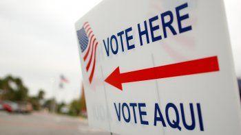 La votación anticipada tendrá lugar entre el lunes 22 de octubre y el domingo 4 de noviembre, de 7 am a 7 pm.