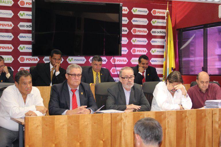 Federación Venezolana de Fútbol presenta su nueva directiva | Fútbol