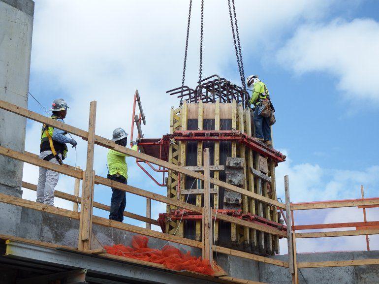 La construcción representa un alto porciento de los empleos en el estado de la Florida.