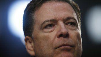 El exdirector del FBI James Comey.