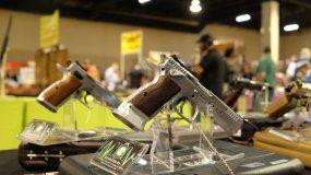 Imagen de archivo de la Feria de Armas de Miami.