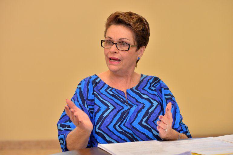 La comisionada de Miami-Dade Rebeca Sosa