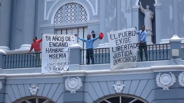Los opositores cubanos que se manifestaron en contra del régimen cubano el pasado 26 de julio han sido trasladados a prisión provisional.