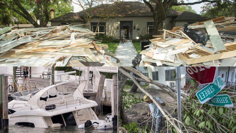 Huracanes Irma Y Harvey Podrian Superar Los Costes De Katrina Segun