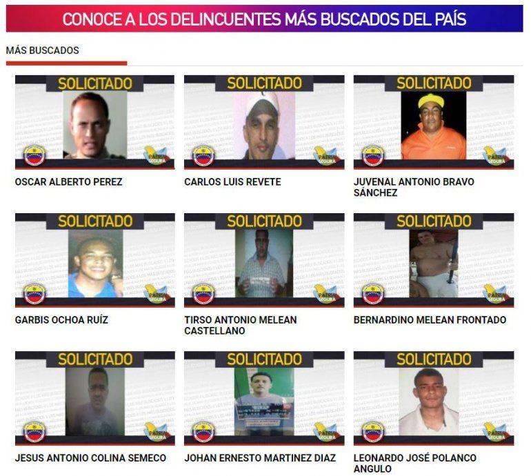Expolic a opositor scar p rez encabeza lista de m s for Pagina del ministerio de interior y justicia