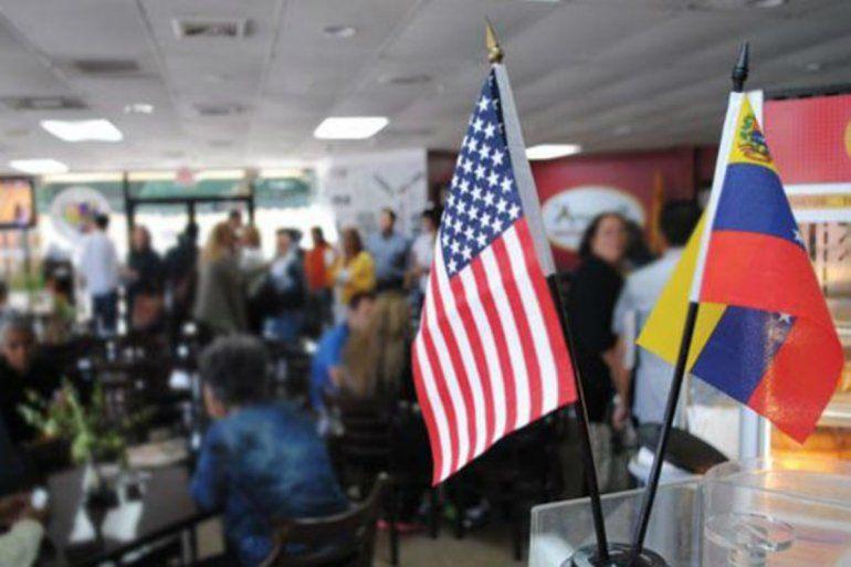 Resultado de imagen para migrantes venezolanos en territorio de Estados Unidos