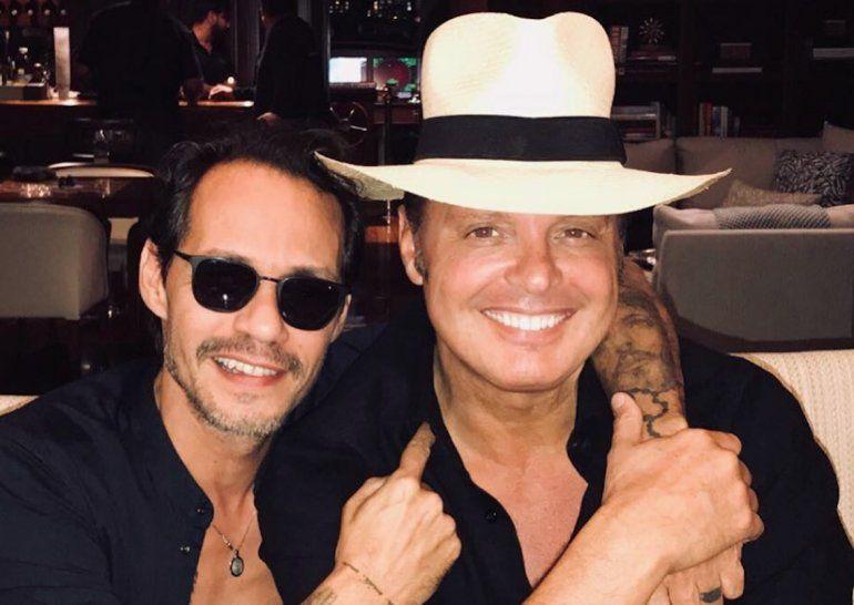 Marc Anthony y Luis Miguel se encuentran en Miami para preparar trabajo en conjunto.