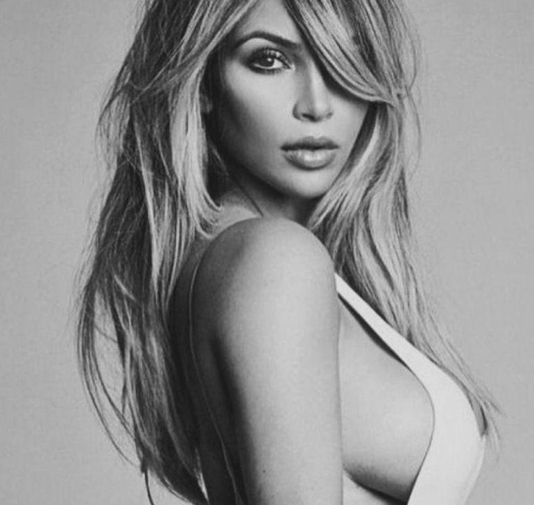 La socialité Kim Kardashian.