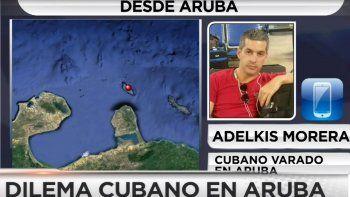 Univision Noticias conversó con uno de los varados.