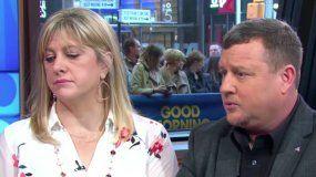 El matrimonio Snead en declaraciones ofrecidas a ABC News.
