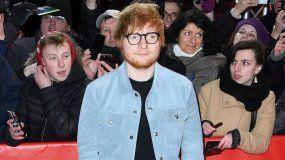 El cantante Ed Sheeran.
