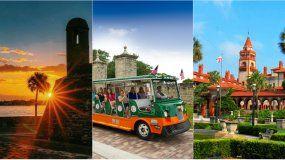 La zona turística del norte de Florida incluye las áreas históricas más antiguas del país.