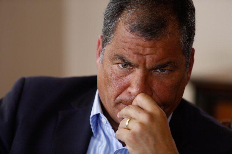 Denuncian a expresidente Correa por facilitar delincuencia ...