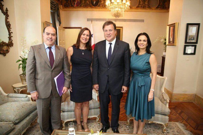 El presidente de Panamá