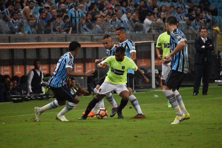 El Monagas venía de ser goleado en Porto Alegre ante el Gremio (4-0).