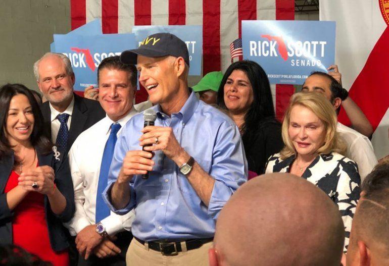 Resultado de imagen para Gobernador de Florida anuncia candidatura a Senado federal